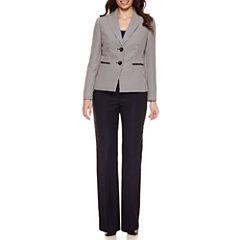 Le Suit Long Sleeve 2-Button Jacket Pant Suit