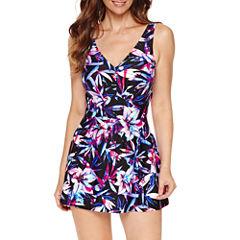 Le Cove Floral Swim Dress