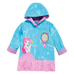 Wippette Girls Princess Raincoat