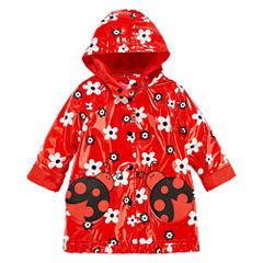 Wippette Girls Ladybug Raincoat-Toddler