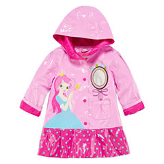 Wippette Girls Princess Raincoat-Toddler