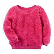 Carter's Girls Long Sleeve T-Shirt-Toddler