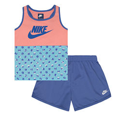Nike 2-pc. Legging Set-Preschool Girls