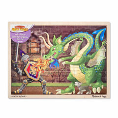 Melissa & Doug® Knight vs. Dragon Jigsaw 48pc