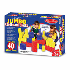 Melissa And Doug 40-pc. Building Blocks