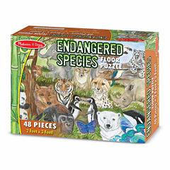 Melissa & Doug® Endangered Species Floor Puzzle (48 pc)