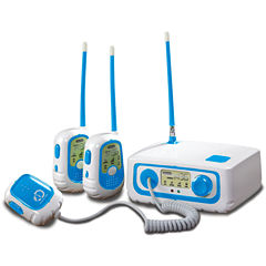 Discovery Kids® 3-Way Walkie Talkie Set with Base Station