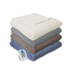 Serta Microfleece Heated Electric Blanket