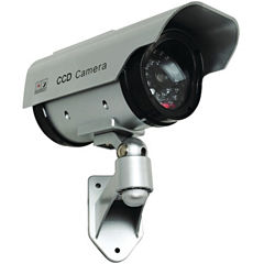 Securityman Solar Powered Dummy Security Camera