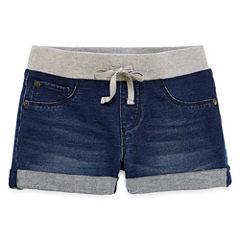 Arizona Denim Bermuda Shorts - Big Kid Girls