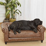 Enchanted Home Wentworth Tufted Pet Sofa
