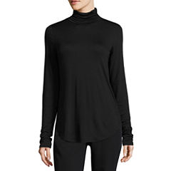 Worthington Long Sleeve Turtle Neck