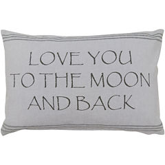 Park B. Smith® Moon and Back Oblong Decorative Pillow