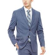 JF J. Ferrar® Birdseye Suit Jacket - Classic Fit