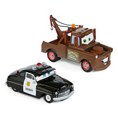 Disney Collection Cars 2-pk. Matter and Sherriff Toy Cars
