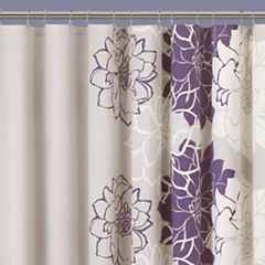 Madison Park Bridgette Floral Shower Curtain