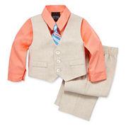 TFW Boys 4-pc. Long Sleeve Pant Set-Baby