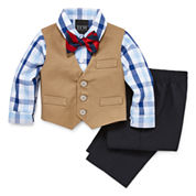 TFW Boys 4-pc. Long Sleeve Pant Set-Baby