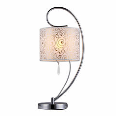 Warehouse Of Tiffany Swirl Crystal Table Lamp