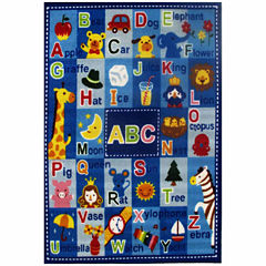 Letters & Names Rectangular Rugs