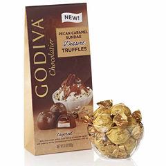 Godiva Milk Chocolate Pecan Caramel Sundae Truffles