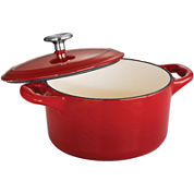 Tramontina® Gourmet 24-Ounce Enameled Cast Iron Covered Small Cocotte