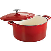 Tramontina® Gourmet 6½-qt. Enameled Cast Iron Covered Round Dutch Oven