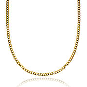 14K Yellow Gold 3.15 MM Curb Necklace 24