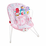 Fisher Price Pink Ellipse Babys Bouncer