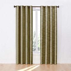 Eclipse Deron Blackout Grommet-Top Curtain Panel
