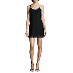 by&by Sleeveless Slip Dress-Juniors