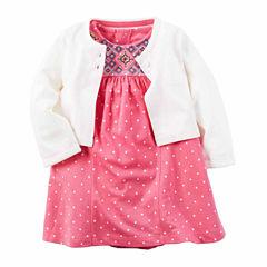Carter's Cardigan & Dress Set
