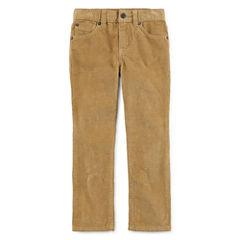 Arizona Straight Fit Corduroy Pants - Big Kid Boys - Husky