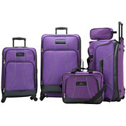Skyway® Seville 5-pc. Luggage Set