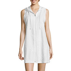 a.n.a Zip Front Cover-up