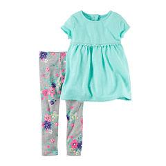 Carter's 2-pc. Legging Set-Toddler Girls