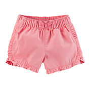 Carter's Girls Pull-On Shorts