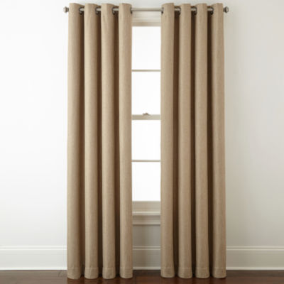 home expressions pasadena blackout grommettop curtain panel
