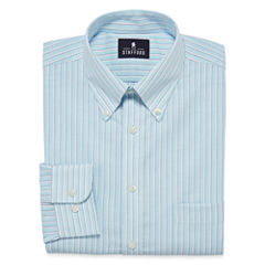 Stafford® Travel Wrinkle-Free Oxford Dress - Big & Tall