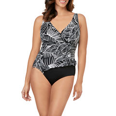 Le Cove Leaf One Piece Swimsuit