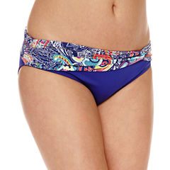 Liz Claiborne Paisley Hipster Swimsuit Bottom