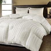 Duraloft Damask-Stripe Heavy-Warmth Down-Alternative Comforter