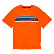 Zero Xposur® Short-Sleeve Striped Rash Guard - Boys 8-20