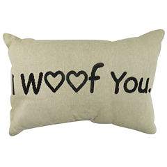 Park B. Smith® I Woof You Tapestry Decorative Pillow