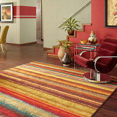 Mohawk Home® Boho Stripe Rectangular Rug