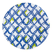 Outdoor Oasis™ White Net Set of 4 Melamine Salad Plates