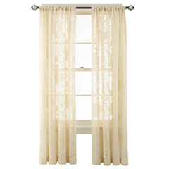 MarthaWindow™ Paloma Rod-Pocket Sheer Panel