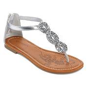 Arizona Hibiscus Girls Strap Sandals