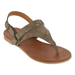 Pop Thatcher Womens Strap Sandals