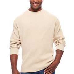 The Foundry Big & Tall Supply Co.™ Long-Sleeve Waffle-Weave Crew Shirt